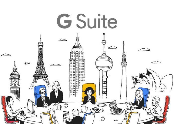 Google. Avec GSUITE, vous allez accélérer vos processus