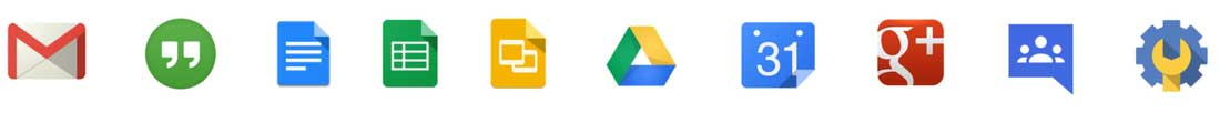 google product icons