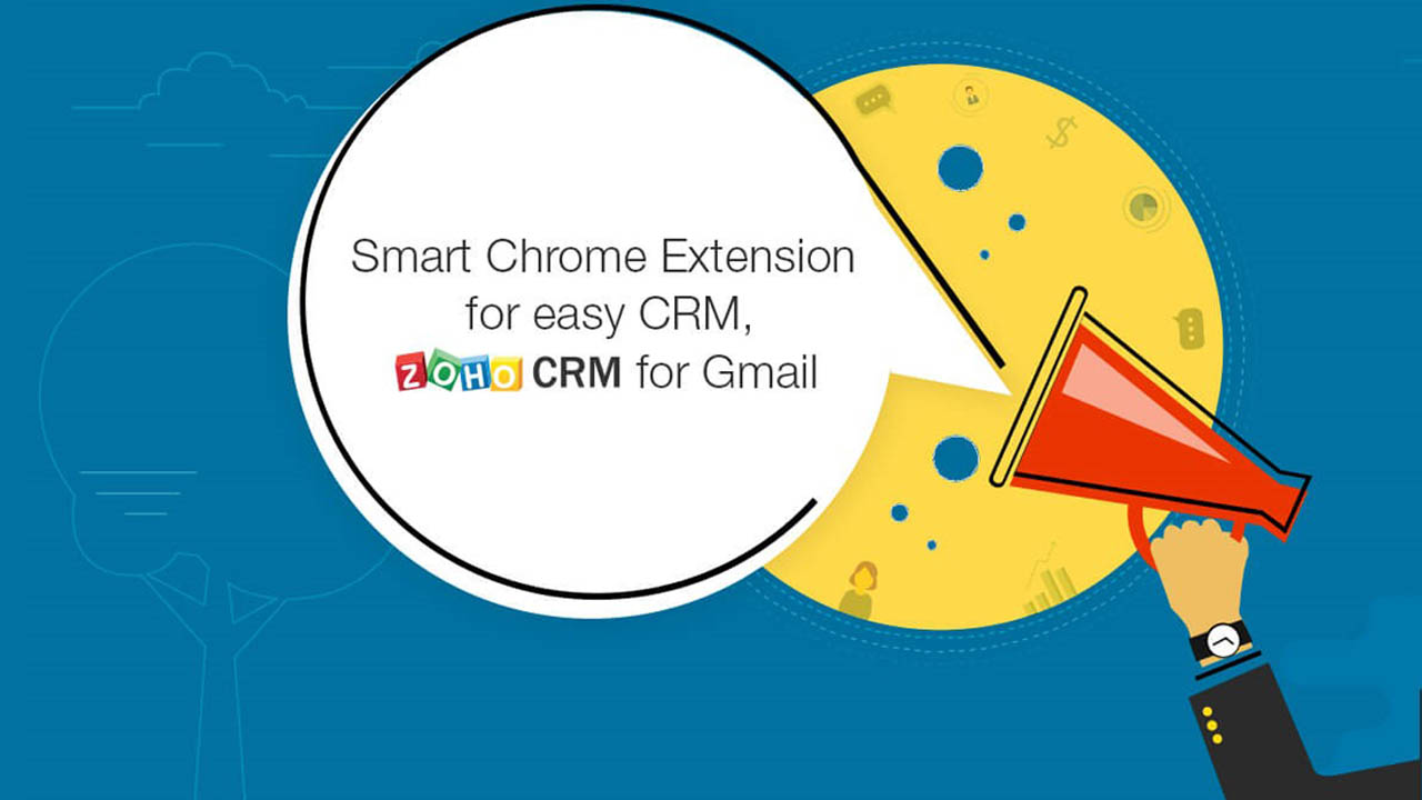 Zoho CRM pour Gmail