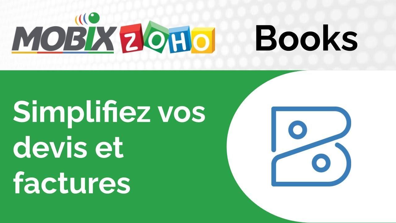 ZOHO Books - Simplifiez votre gestion commerciale !