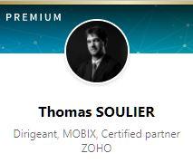 Thomas Soulier, Dirigeant de MOBIX
