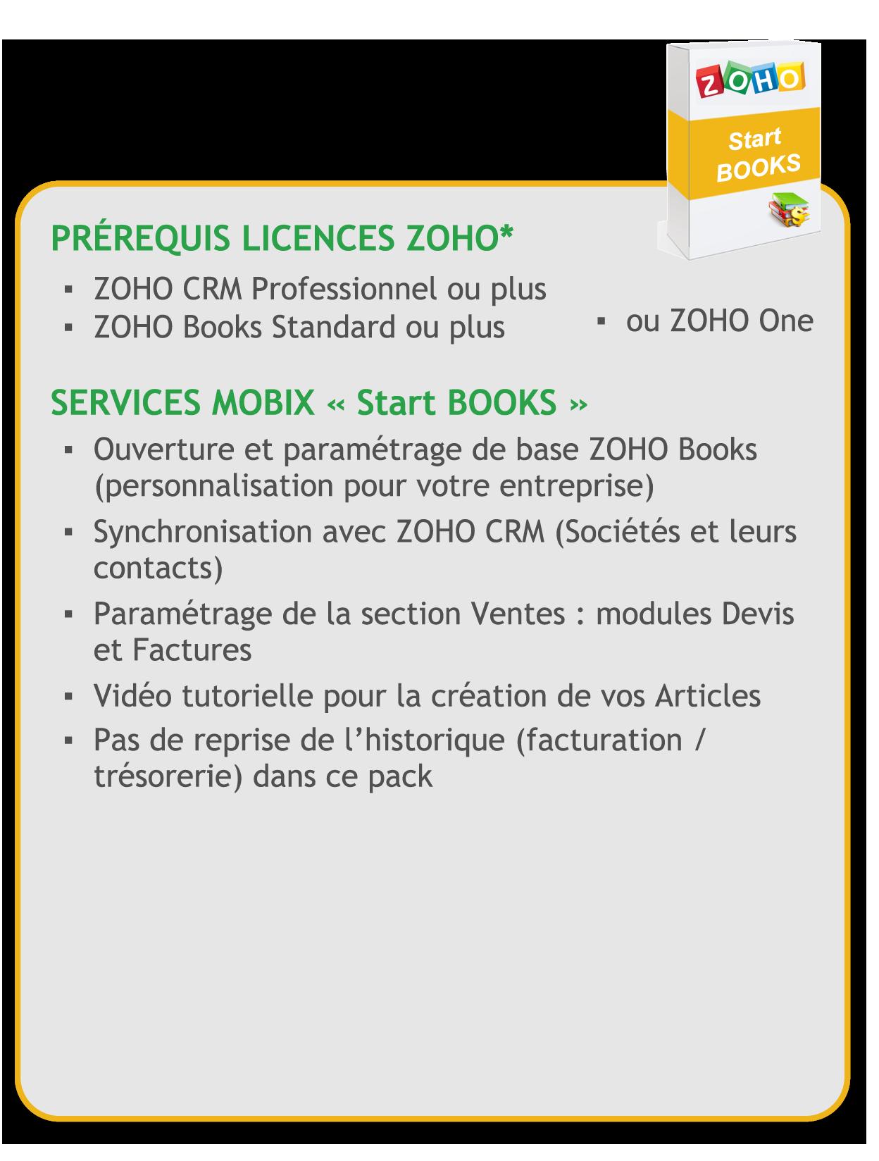 Books -ZOHO-starter - details