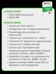 CRM -ZOHO-avance - details