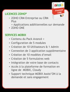 CRM -ZOHO-premium- details