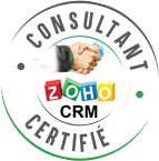 ZOHO CRM - Certified badge