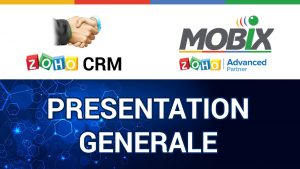 ZOHO CRM _ PRESENTATION GENERALE