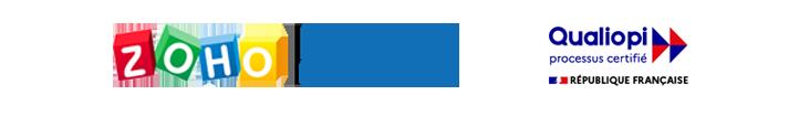 ZOHO advanced - google - zoho creator certified logos