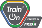 train on logo
