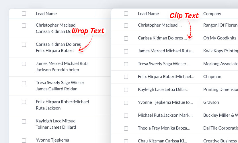 Introducing Wrap text and Clip text options