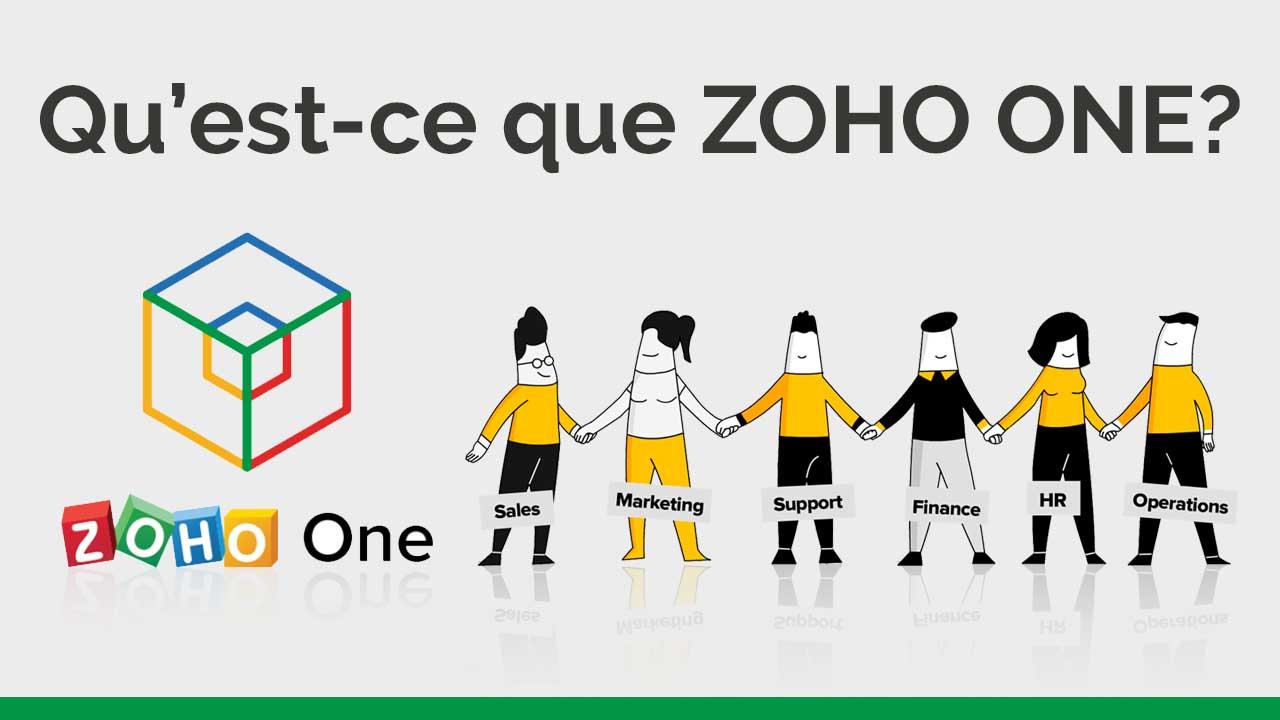 Qu'est-ce que ZOHO ONE
