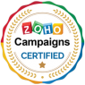 ZOHO CAMPAIGNS CERTIFICATE'S BADGE