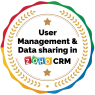 User management and data sharing in ZOHO CRM